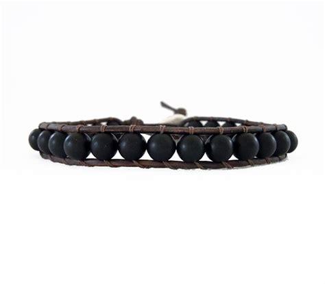 s black leather wrap bracelet onsra designer bracelets