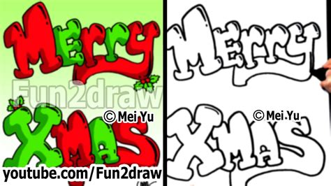 ideas on how to draw names for christmas merry letters best business template