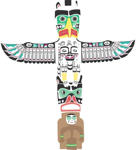 images of totem poles totem pole clipart