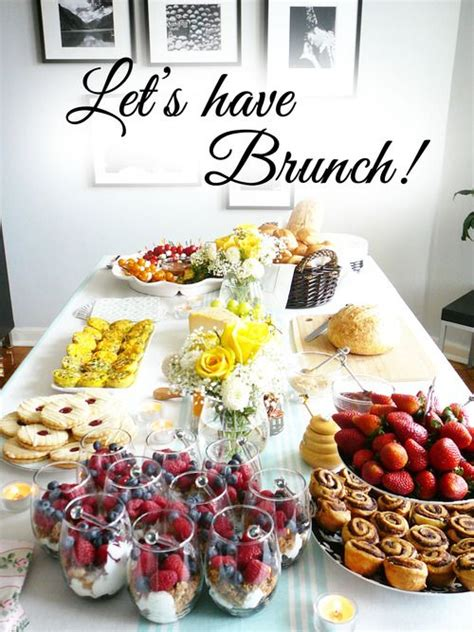 Brunch Table | 25 best ideas about brunch on pinterest brunch foods