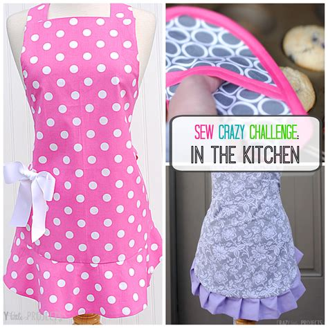 apron sewing projects cute apron pattern crazy little projects