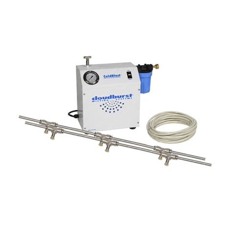 High Pressure Patio Misting System | 15 misting nozzle patio misting system high pressure