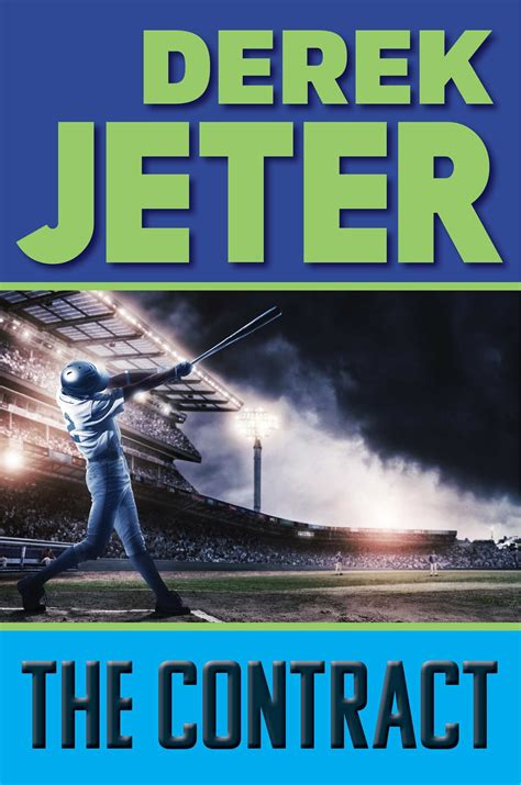 baseball for building boys to books jeter s children s book the contract is