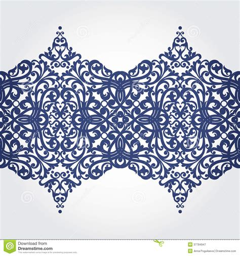 free baroque design elements vector vector baroque border in victorian style stock