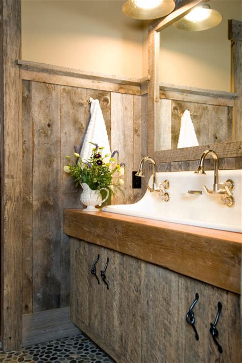 Reclaimed Bathrooms by Beartooth Foothills Rustic Bathroom Other Metro By