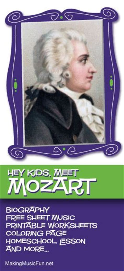 mozart biography book pdf 1000 images about mozart for kids biography lessons