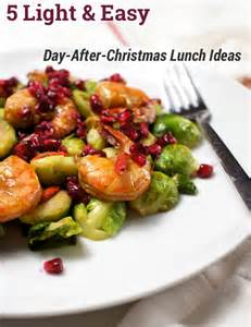 5 light easy day after christmas lunch ideas