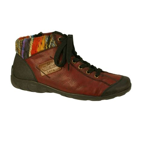 wine boots rieker l6540 00 s wine boots free delivery at