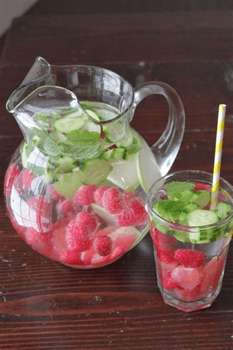 Detox Water With Raspberries And Blueberries by Cleanse And Burn With 20 Delicious Detox Water Recipes