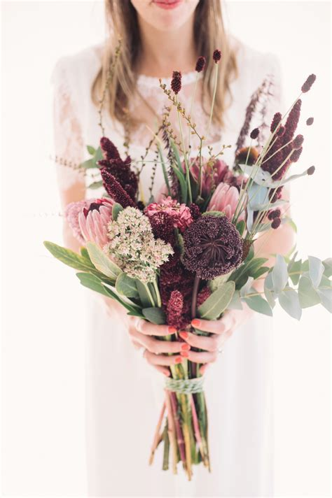 Best bouquets of 2015 / Protea and wildflower bouquet