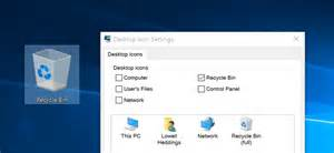 how to get a desk restore missing desktop icons in windows 7 8 or 10