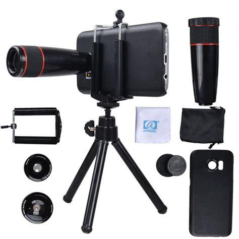 Kamera Fisheye Untuk Samsung samsung galaxy s7 kamera objektiv set mit einem 12x teleobjektiv fisheye objektiv 2 in 1