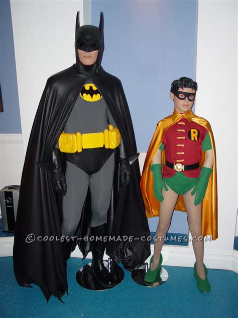 Handmade Batman Costume - awesome batman characters costumes for stage play