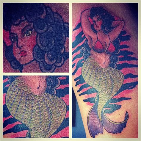 mermaid tattoos and designs page 9