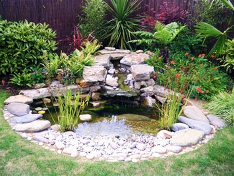 Garden Pond Ideas Landscaping Gardening Ideas Backyard Pond Ideas Small