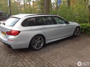 Bmw Post F11 M550d Touring Models Spotted Bmw Post