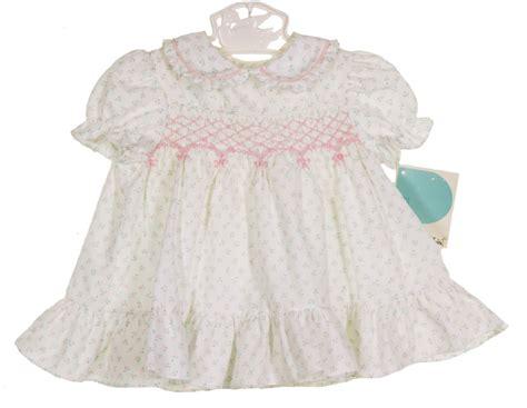 Polly flinders rosebud print smocked baby dress polly flinders smocked baby dress polly flinders