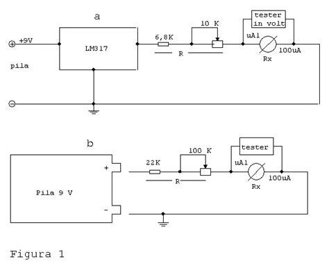 resistenza interna misura della resistenza interna di un microerometro