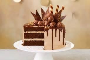 choc hazelnut drip cake
