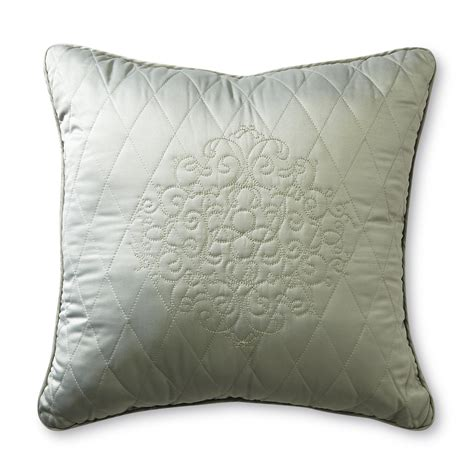 decorative pillows for bed cannon quilted bed sham home bed bath bedding