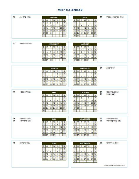 printable calendar 2017 horizontal 2017 accounting calendar calendar template 2016