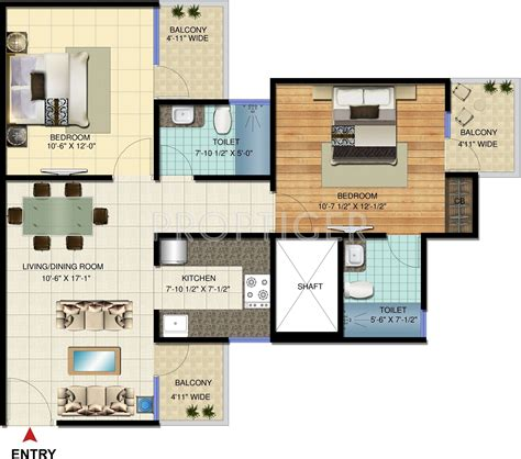 1000 sq ft apartment 1000 sq ft 2 bhk 2t apartment for sale in amrapali jaura heights techzone 4 noida