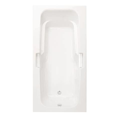 aquatic montrose ii 6 ft reversible drain acrylic soaking