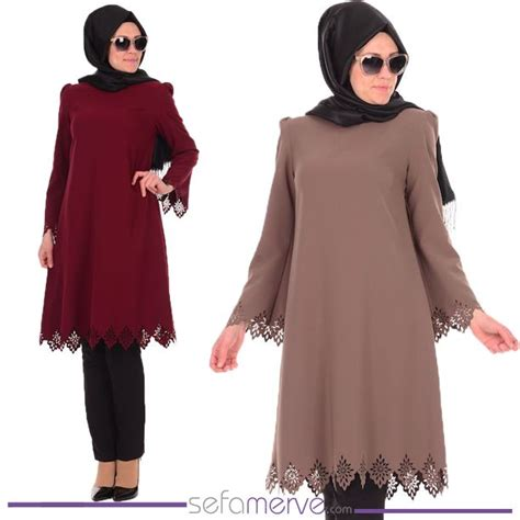 Laser Tunik by Laser Tunic 0100 Sefamerve Islamicclothing