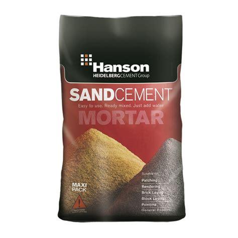 Multi Mortar multi purpose mortar sand and cement mix 23kg paper bag