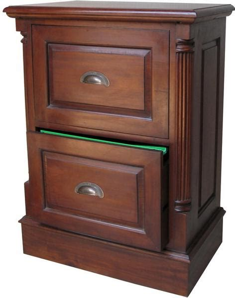 Mahogany Filing Cabinet 2 Drawer by Mahogany Filing Cabinet With Antique Handles