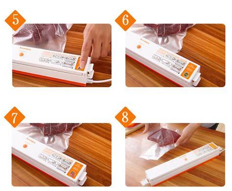 Mesin Penyegel Makanan Sealer Elektrik sealer elektrik plastik pembungkus makanan 220v 100w white jakartanotebook