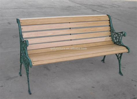 wood and cast iron bench outdoor cast iron garden bench buy wooden slats with