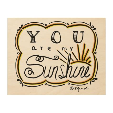 You Are Wall Decor by You Are Wood Wall Zazzle