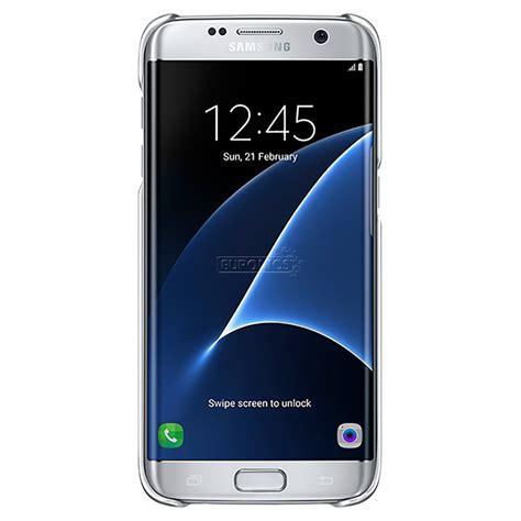 Clear Samsung Galaxy S7 Edge S7 Edge Bening galaxy s7 edge clear cover samsung ef qg935csegww