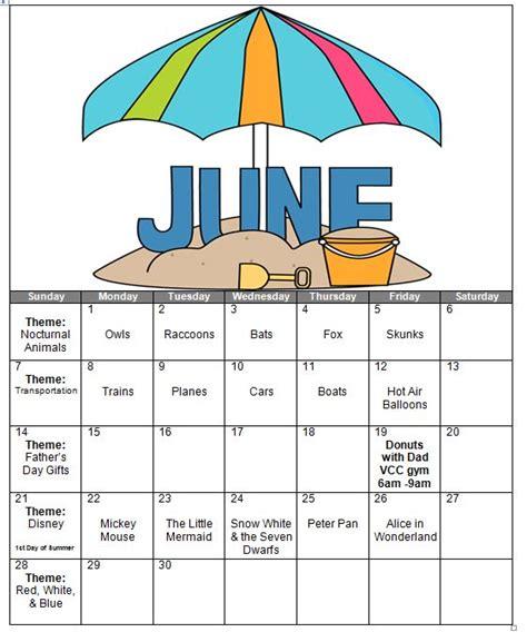 kindergarten themes for june victor child care center the victorchildcare com blog