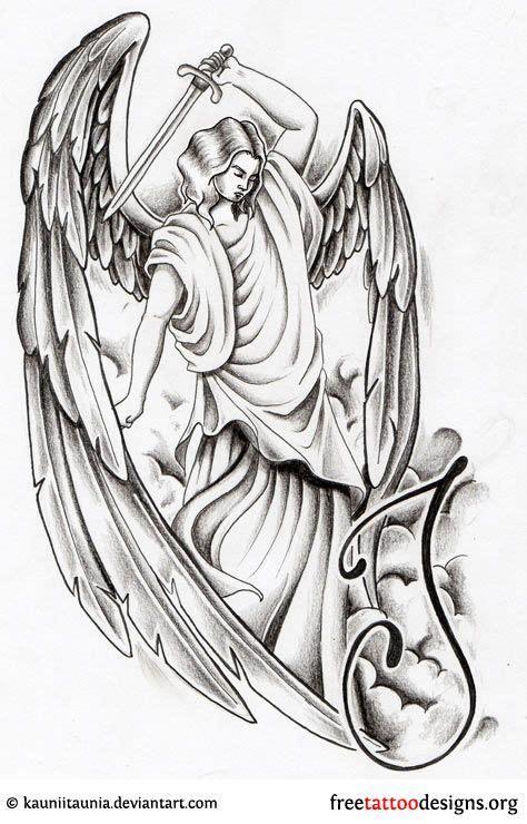 angel tattoo zug design fl 252 gel and engel tattoo on pinterest