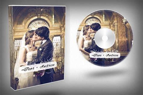 Wedding Dvd Layout | elegant wedding dvd cover templates creative market