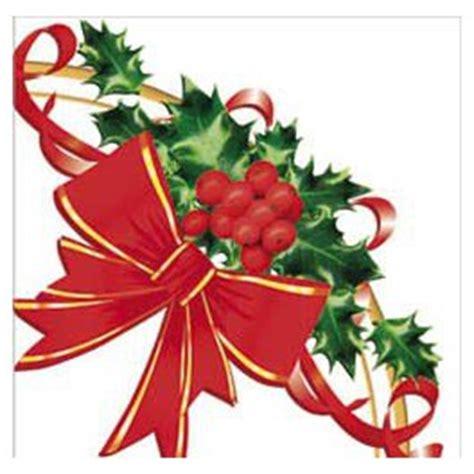 Tovaglioli Con Fiocco by Feste Di Natale Tovaglioli Usa E Getta In Carta