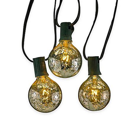Kurt Adler 10 Light Novelty Light Set In Silver Www Kurt S Adler Lights