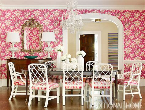 pink dining room chairs pink dining room transitional dining room
