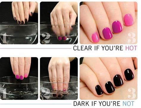 something that changes color classypyt nail that changes with your temperature