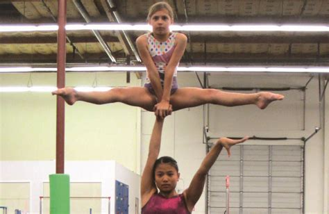 usa gymnastics national chions acrobatic gymnastics reaching for the acrobatic gymnastics national