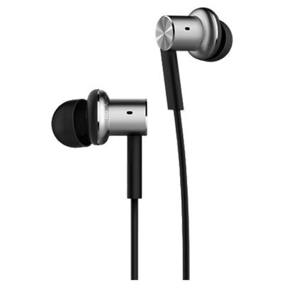 Xiaomi Quantie Pro Hybrid Driver Earphone With Mic Original xiaomi quantie hybrid dual driver in ear earphones with mic original black jakartanotebook