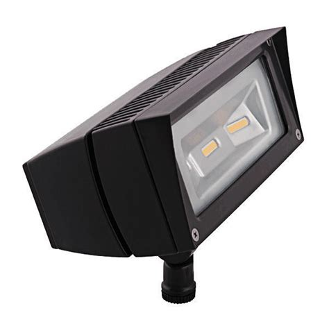 Photocell Light Fixtures 18w Led Flood Fixture With Photocell 120v Rab Ffled18y Pc