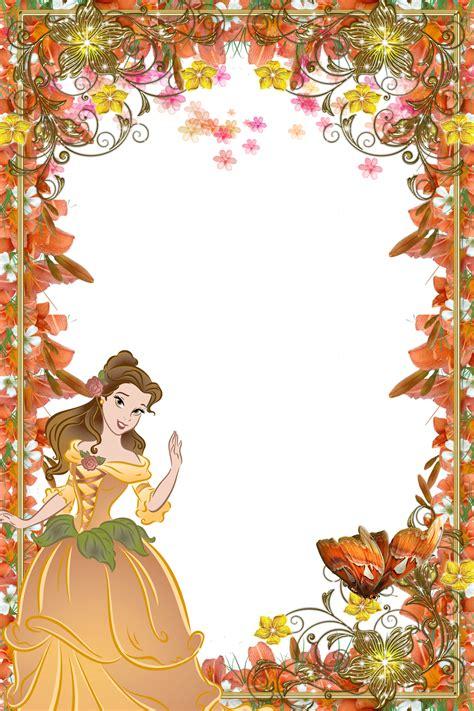 Frame Disney disney princess frames www pixshark images