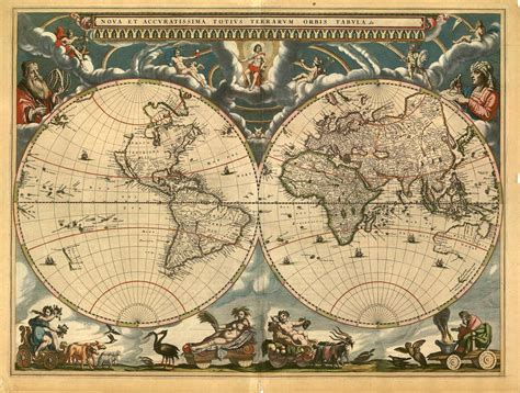 Decoupage World - i maps and i want to go everywhere travel