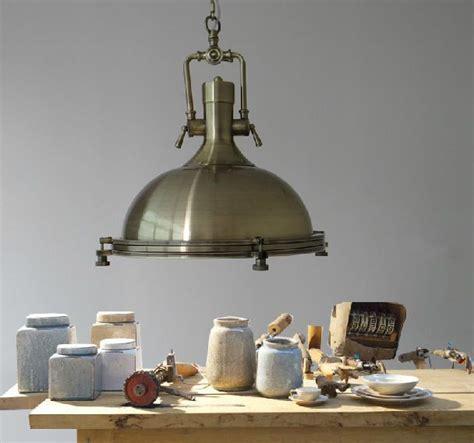 Vintage Industrial Chandelier Nautical Bronze Pendant Bronze Kitchen Chandelier