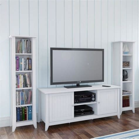 white slim bookcase 60 quot slim bookcase in white 200203