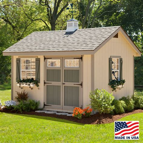 heritage shed kit    ez fit sheds amish country ohio