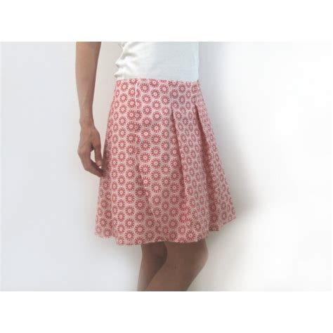 sewing pattern wrap pleated skirt for cours